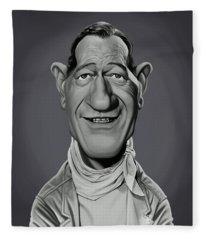 Celebrity Sunday - John Wayne Fleece Blanket