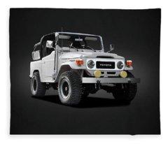 The Land Cruiser Fleece Blanket