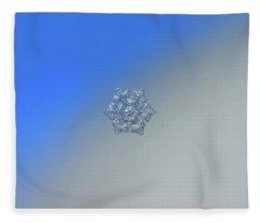 Real Snowflake - 05-feb-2018 - 5 Alt Fleece Blanket