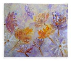 Purple Blaze Fleece Blanket