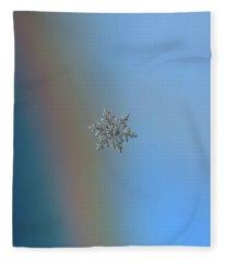 Snowflake 2018-02-21 N2 Fleece Blanket