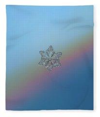 Real Snowflake - 05-feb-2018 - 8 Fleece Blanket
