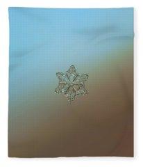 Real Snowflake - 05-feb-2018 - 8 Alt Fleece Blanket