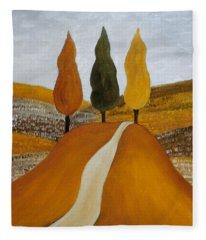 Just The Three Of Us Fleece Blanket