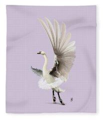 Lake Colour Fleece Blanket