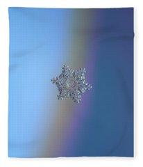 Real Snowflake - 05-feb-2018 - 11 Fleece Blanket