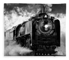Up 844 Steaming It Up Fleece Blanket
