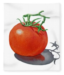 Artz Vitamins Tomato Fleece Blanket