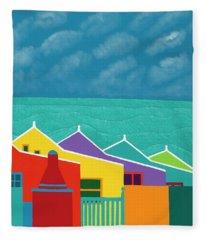 Aruba Fantasy  Fleece Blanket