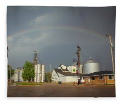 As Luck Would Have It Fleece Blanket