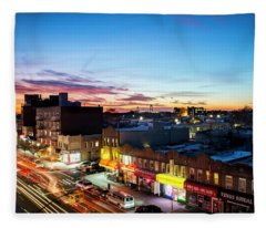 As Night Falls Fleece Blanket