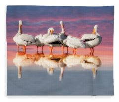 As The Sun Goes Down Fleece Blanket