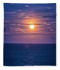 Asbury Super Moon Fleece Blanket