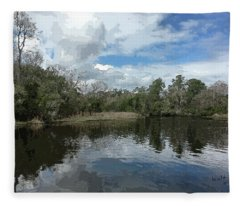 Ashley River Fleece Blanket