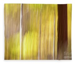 Aspen Blur #1 Fleece Blanket