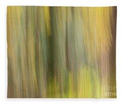 Aspen Blur #2 Fleece Blanket