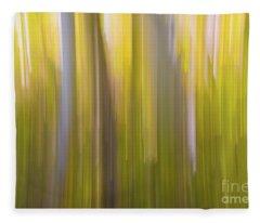 Aspen Blur #6 Fleece Blanket
