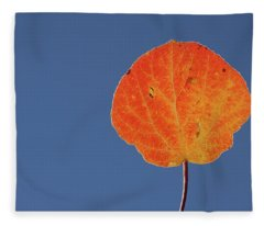 Aspen Leaf 1 Fleece Blanket