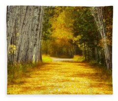 Say You'll Follow Me Fleece Blanket
