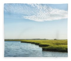 Assateague Island Fleece Blanket