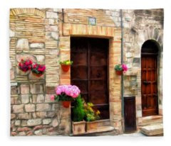 Assisi Doorways Fleece Blanket