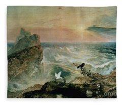 Assuaging Of The Waters Fleece Blanket