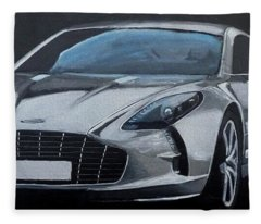 Aston Martin One-77 Fleece Blanket