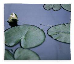 At Claude Monet's Water Garden 2 Fleece Blanket