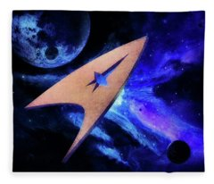 At The Edge Of The Universe Fleece Blanket