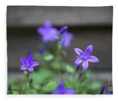 At The Fence Fleece Blanket