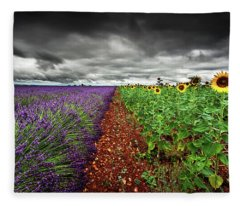 At The Middle Fleece Blanket