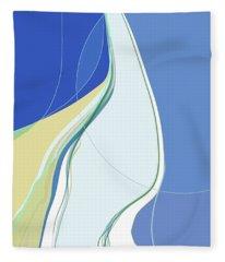 At Water's Edge Fleece Blanket