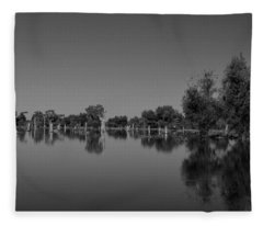 Atchafalaya Basin 15 Fleece Blanket