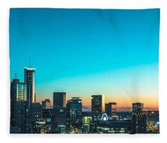 Atlanta Tonight Fleece Blanket
