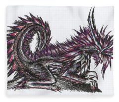 Atma Weapon Catoblepas Fusion Fleece Blanket