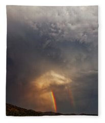Fleece Blanket featuring the photograph Atmosphere by Rick Furmanek
