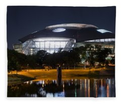 Dallas Cowboys Stadium 1016 Fleece Blanket