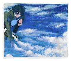 Attack On Titan Fleece Blanket