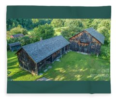 Atwood Farm Fleece Blanket