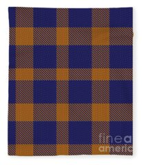 Auburn Plaid Two Fleece Blanket