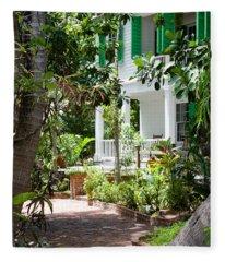 Audubon House Entranceway Fleece Blanket