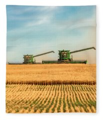 Augers Out Fleece Blanket