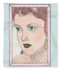Aunt Edie Fleece Blanket