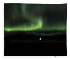 Aurora Borealis - 8 Fleece Blanket