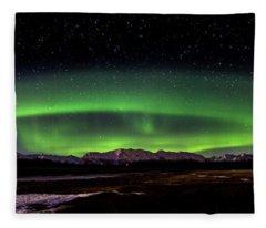 Aurora Spiral Fleece Blanket