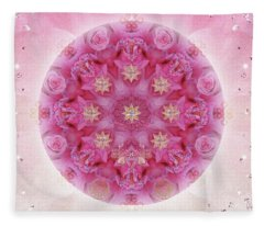Auspicious Adoration Fleece Blanket