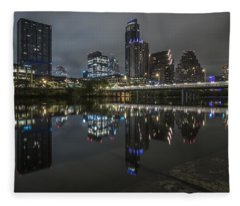 Austin As Gotham Fleece Blanket
