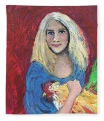 Austin Girl Fleece Blanket