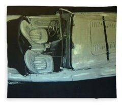 Austin Healy Lm Fleece Blanket