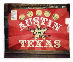 Austin Live Music Fleece Blanket